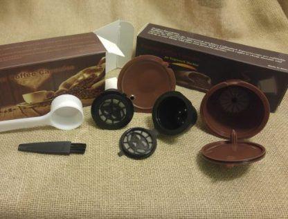 capsulas cafe recargables