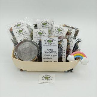 Regalar cesta degustacion té en oviedo