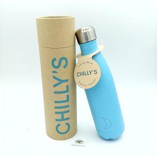 comprar botella chillys azul pastel online