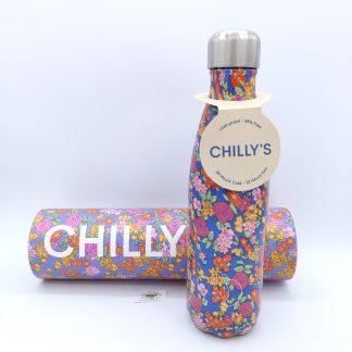 Comprar botella chillys flores oviedo