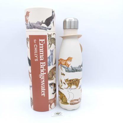 Comprar botella chillys gatos oviedo
