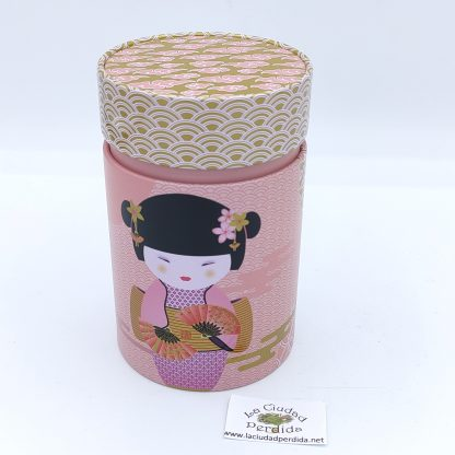 comprar lata geisha rosa para té en oviedo