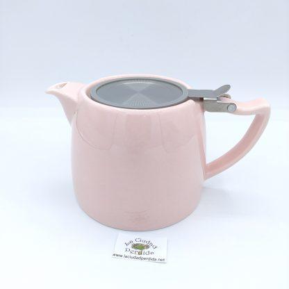 Comprar tetera rosa con filtro en oviedo