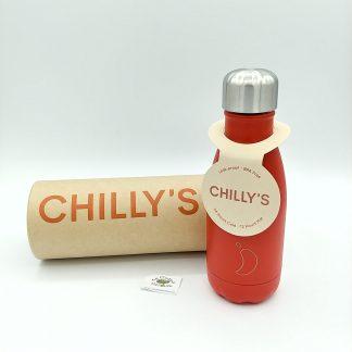 comprar botella chilly roja mate en oviedo