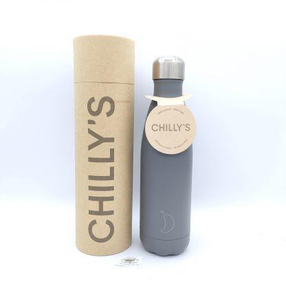 Comprar botella chillys gris en oviedo