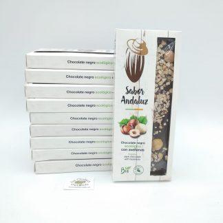 Comprar chocolate negro con avellana oviedo