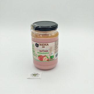 Comprar crema de chocolate blanco con fresas en oviedo