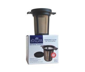 Filtro permanente taza finum 6cm negro