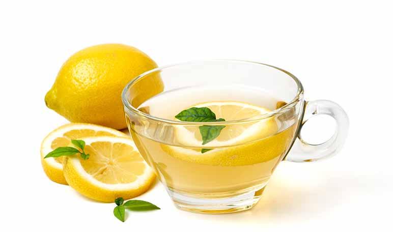te verde con limon para adelgazar